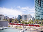 The San Diego Convention Center is located in downtown near beaches