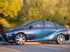 The Mirai measures 193 inches, which is comporable to other mid-size