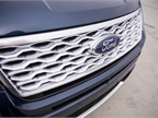 The front grille has been given a more rugged look.