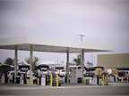 The county s fuel island provides gasoline and diesel fuel for fleet