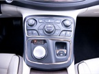 A/C temperature and dual zone climate controls are accessible on an