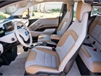 The base model i3 interior uses SensaTec vinyl and sustainable cloth