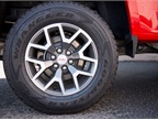 The Canyon gets 17-inch aluminum alloy wheels.