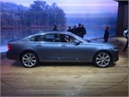 2017 Volvo S90 luxury sedan