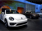 Volkswagen brought iew Beetle Convertible to the LA Auto Show.