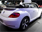 The Beetle Convertible features three engine options and the clean