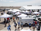 Several fleet management related tents, as well as upfitters and other