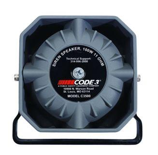 Code 3 C3500 speaker