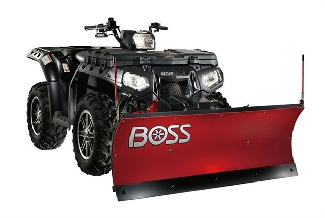<p>The Boss 4-in. ATV plow has the same features as a full-size plow. <em>Photo courtesy of Boss</em></p>