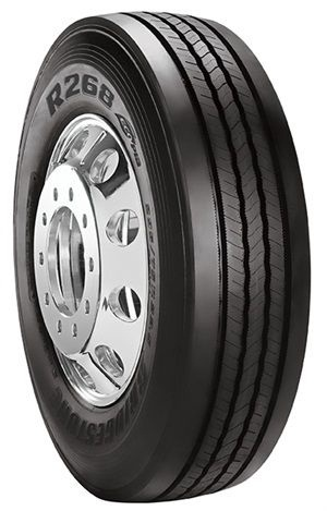 <p>Bridgestone said the R268 provides tire performance that stands up to high scrub environments while offering fuel efficiency advantages.</p>