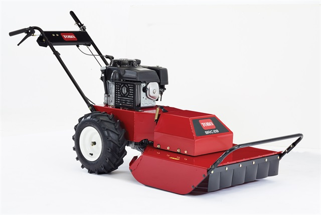 <p>Toro's 28-inch Hydro Drive Brush Cutter with two-step blade engagement. <em>Photo courtesy of Toro</em></p>