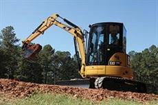 <p>Caterpillar 304E CR mini hydraulic excavator</p>