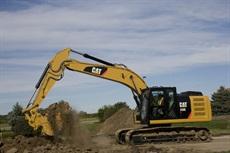 <p>Caterpillar 320E crawler excavator</p>