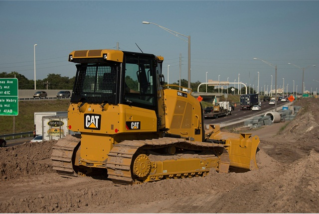 <p>Caterpillar D5K2 track type tractor. <em>Photo courtesy of Caterpillar</em></p>