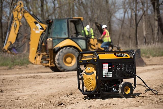 <p>The Caterpillar RP12000 E Portable Generator. <em>Photo courtesy of Caterpillar</em></p>