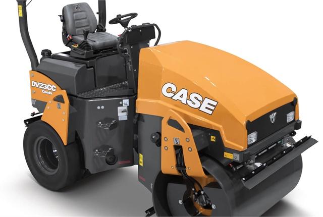 <p>Case Construction Equipment's DV23CC combination vibratory roller. <em>Photo courtesy of Case Construction Equipment</em>.</p>