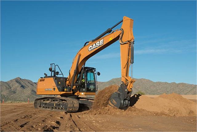 <p>CX210D<em> Photo courtesy of CASE Construction</em></p>