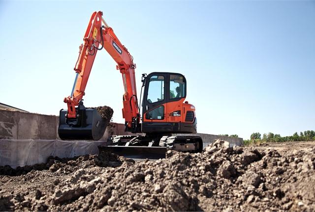 <p>DX85R-3 excavator</p>