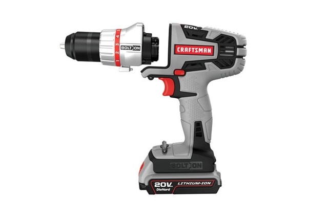 <p><strong>Bolt-On Cordless Power Unit with 3/8 Drill and Driver Attachment</strong></p>