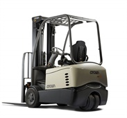 <p>Crown Equipment Corp.'s SC 5200 Series forklift.</p>