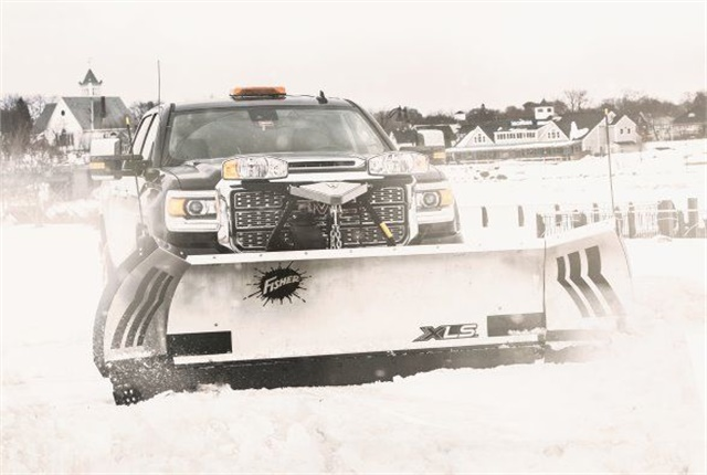 <p><em>Photo of XLS Expandable Wing Plow courtesy of Fisher Engineering</em></p>