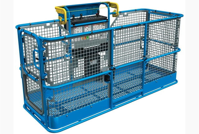<p>The Genie Lift Guard Platform Mesh full assessory will be available in the second quarter of 2018, along with a half-full option and a screen. <em>Photo courtesy of Genie</em></p>