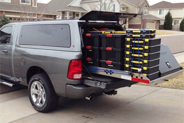 Truck Bed Slide Out Cargo Tray Highway Products
