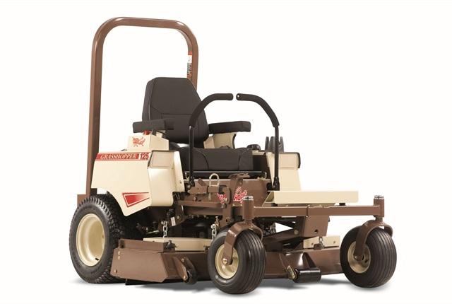 <p>Model 125V can be equipped 48- or 52-inch decks. <em>Photo courtesy of Grasshopper</em></p>