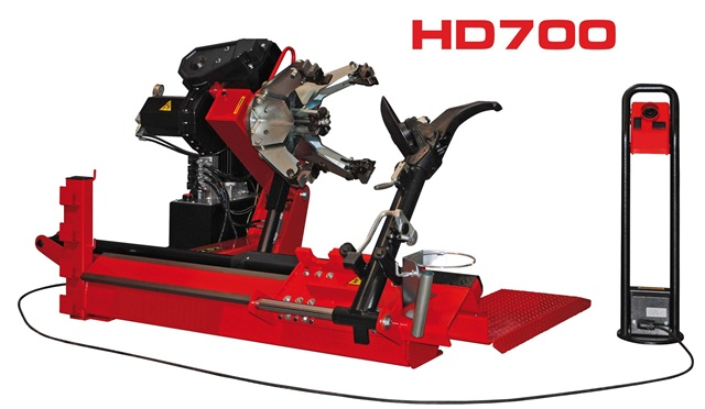 <p>The HD700 Electrohydraulic Tire Changer.</p>