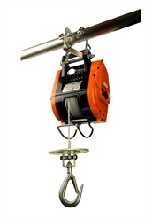 <p><span>Four models, with hoisting capacities of up to 785 lbs., make it possible to select a unit that matches any contractor's need to lift tools or building materials.</span></p>