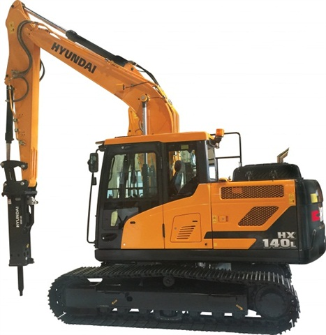 <p><em>Hyundai HX140L Photos courtesy of Hyundai Construction Equipment Americas</em></p>