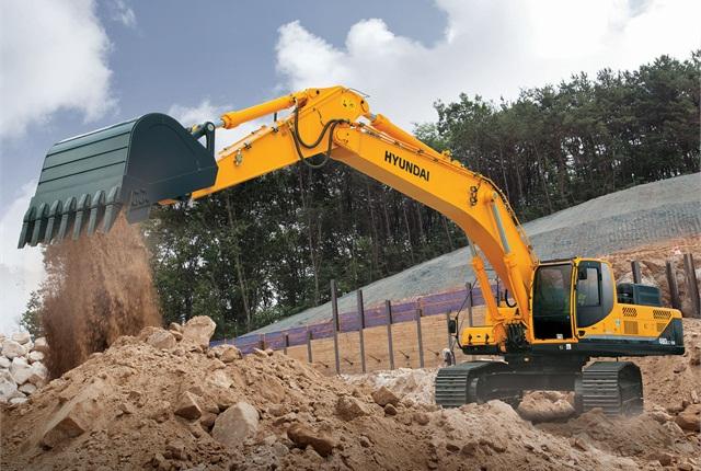 <p>Hyundai 480LC-9A excavator</p>
