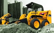 <p>Hyundai HSL850-7A skid-steer loader</p>