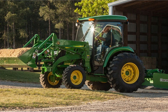 <p>Pictured is the 4052R compact utility tractor. <em>Photo courtesy of John Deere</em></p>
