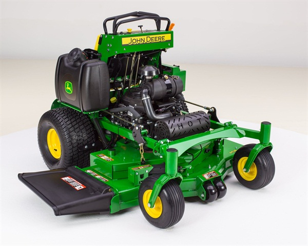 <p>Pictured is the John Deere 652R MOD model.</p>