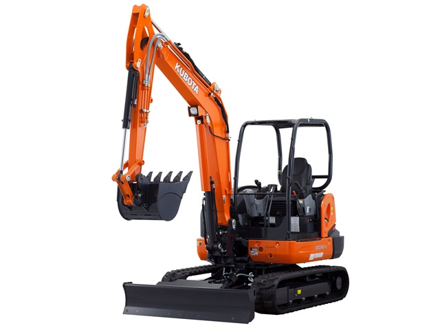 <p>The optional Hydraulic 6-in-1 Blade is designed for Kubota's KX040-4 compact excavator. <em>Photo via Business Wire</em></p>
