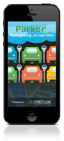 <p><span>Parker displays open on-street parking in real time, as well as available parking at garages and nearby parking lots</span></p>