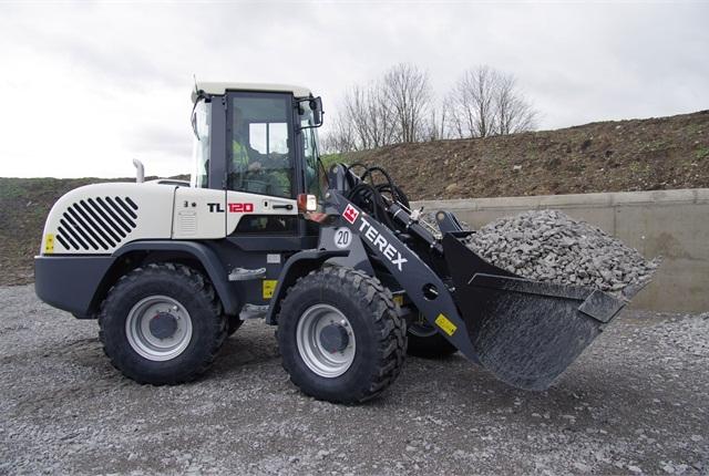 <p>Terex TL120 wheel loader <em>Photo courtesy of Terex</em></p>