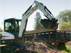 The Bobcat E32i is an conventional tail swing excavator with a 24.8 hp Tier 4 diesel engine. Photo courtesy of Bobcat.