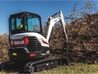 Bobcat E35 compact excavator. Photo courtesy of Bobcat