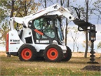 Bobcat S30 with auger