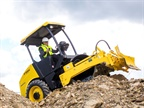 Photo of BOMAG's compact BW 124-5 single drum vibratory roller courtesy of BOMAG