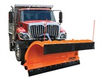 Buyers Products offers trip edge on SnowDogg municipal plows for easier snow removal.