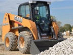 Case's SR240 skid-steer loader. Photo courtesy of Case