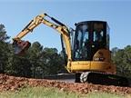 Caterpillar 304E CR mini hydraulic excavator