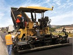 Caterpillar AP555E with AS4252C screed