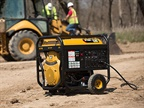 The Caterpillar RP12000 E Portable Generator. Photo courtesy of Caterpillar
