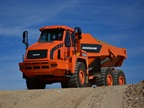 <p>The DA30-5 dump truck from Doosan. <em>Photo courtesy of Doosan.</em></p>