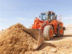 <p>DL300-5 wheel loader. <em>Photo courtesy of Doosan</em></p>