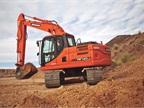 Doosan DX140LC-3 excavator